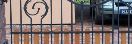 Kovaná brána na zakázku